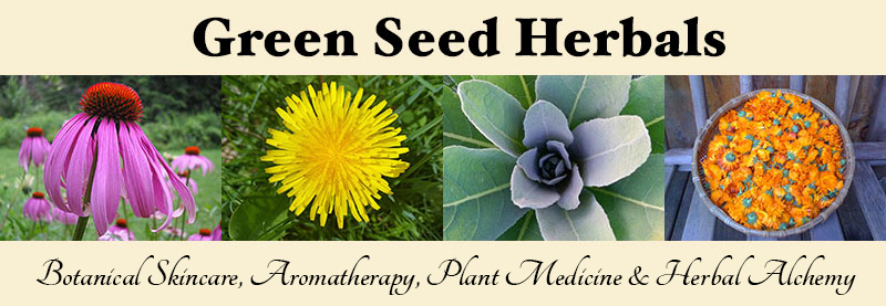 Green Seed Herbals - Botanical Skincare, Aromatherapy, Plant Medicine and Herbal Alchemy